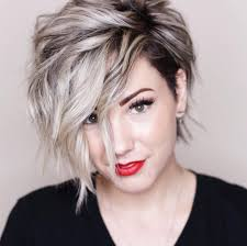 Chic Short Hairstyles For Thick Hair Women Short Haircut 2018
