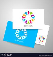 Seminar Design Template Community Logo Design Template