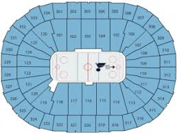 St Louis Blues Seating Chart St Louis Blues Tickets Scottrade Center Preferred Seats