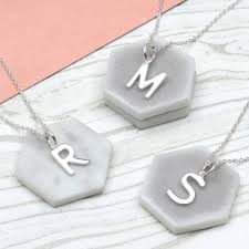 original sterling silver initial necklace 1