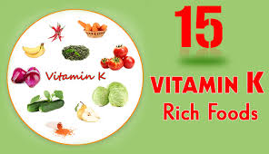 Foods High In Vitamin K Chart Diet Plans Archives Health Beckon