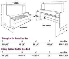 murphy bed plans with table. DIY-Murphy-Bed-Desk 3 | Furniture Pinterest Murphy Bed Desk, Diy And Plans With Table