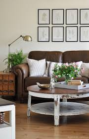 decorating brown leather couches. Decorating With Leather {The New Sofa} Decorating Brown Leather Couches A
