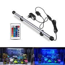 Fish Tank Lights Cheap Us 6 98 25 Off Eu Plug Led Aquarium Lights Waterproof Fish Tank Light 19 29 39 49 Cm Submersible Underwater Clip Lamp Aquatic Decor Lamp In