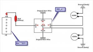 wiring diagram for a horn relay the wiring diagram 12v horn relay wiring diagram awesome sample detail relay wiring wiring diagram