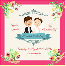 Word Template For Invitation Editable Pink Invitation Wedding For Microsoft Word Template