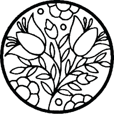 simple flower coloring pages flower coloring pages plus coloring pages flowers free printable coloring pages of