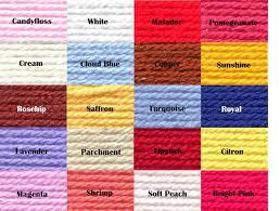 Stylecraft Dk Colour Chart Stylecraft Special Dk Colour