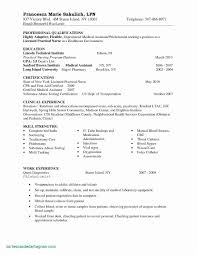 Medical Assistant Resume Templates Beautiful Cv Template Medicine