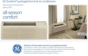 ge thru the wall air conditioner and