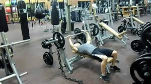 Weightlifting ChainChains Bench Press