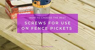best s for fence pickets updated