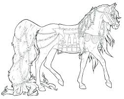 Horse Coloring Pages To Print Mustang Horse Coloring Pages Printable