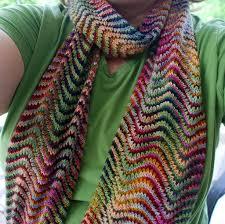 Chevron Scarf Knitting Pattern