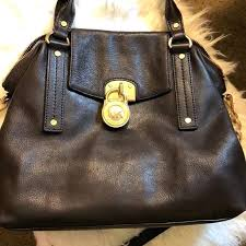 dark brown leather tote purse extra large handbags