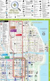 chicago maps  top tourist attractions  free printable city