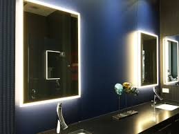 view larger image chicago glass fleurco luna lighted vanity mirrors