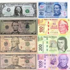 Money Conversion Chart Pesos To Dollars America To Mexican Money Chart In 2019 Money Chart