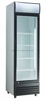 china commercial used beverage cooler glass door for 380l china commercial refrigeration upright cooler