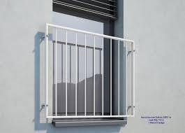 Französischer Balkon Md01ap Weiß Pulverbeschichtet Deutschland