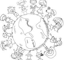 World Coloring Pages Printable Map Coloring Pages Printable World
