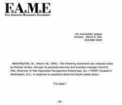 michael announced comeback fax i m back michael im back letter