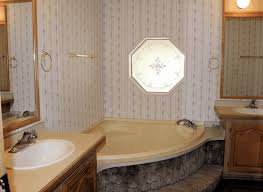 yellow bathtubs in mobile homes