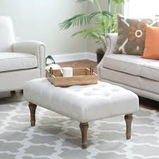 full size of uncategorized tufted ottoman coffee table in best mille french country cream ivory