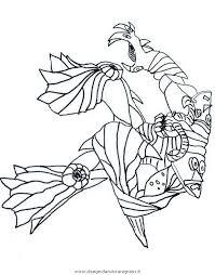 Disegno Gormiti29 Personaggio Cartone Animato Da Colorare