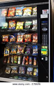Vending Machine Chips New Popular Chips In Vending Machine USA Stock Photo 48 Alamy