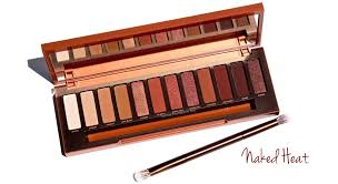 Urban Decay The Naked Heat Collection ommorphia beauty bar.