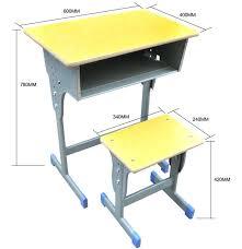 desk school desk with bench student classroom standard size school desk and chair standard desktop