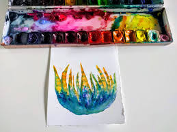 today s tutorial is about sketching a zebra cactus using brusho crystals zebra cacti are another popular and fun cactus plants to watercolor