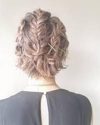 ショートの編み込みアレンジ24選簡単なやり方や前髪やサイドまとめ髪