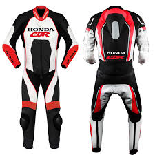 honda cbr motorbike motorcycle leather racing 1 2 piece suit tailor made