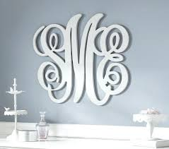 monogram wall decor metal monogram metal wall art monogram initial wall decal initial wall hangings vinyl