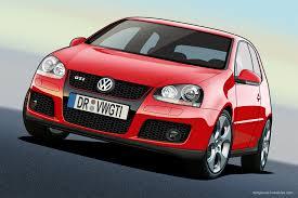 VW Golf 5 GTI - Vector by dangeruss on DeviantArt