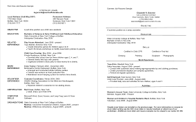 Lovely Resume Sample After First Job Resume Examples Australia