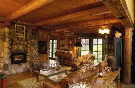 extraordinary image of log cabin interior design ideas stunning rustic living room decoration with log