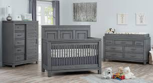 rustic crib furniture. Manchester - Rustic Gray Crib Furniture
