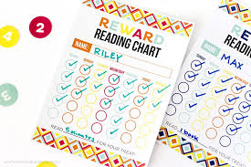 Free Printable Reading Incentive Charts Free Printable Reward Reading Chart Printable Crush
