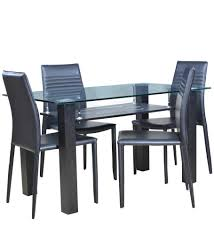 dining room furniture cheap prices. hometown presto four seater dining table set (black): amazon.in: home \u0026 kitchen room furniture cheap prices