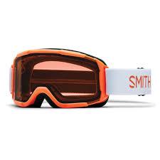 Details About Smith Ski Goggles Snowboard Goggles Daredevil Orange Helmet Compatible