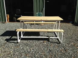stunning pvc patio furniture about picnic table make with pvc pipe the yard
