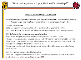 Scholarship Interview Questions How To Schedule Army Rotc Interview Questions
