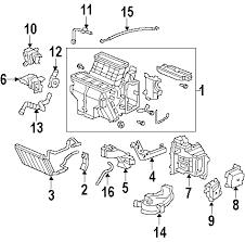 parts com® honda odyssey rear ac lines oem parts 2005 honda odyssey ex l v6 3 5 liter gas rear ac lines