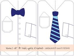 Small Picture free crafts bow tie fathers day card printable tax donation 498108