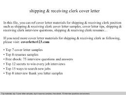 Download Shipping Clerk Resume Ajrhinestonejewelry Com