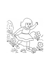 Small Picture Little Girl 40 Characters Printable coloring pages