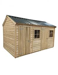 garden sheds cottage combo style with 2